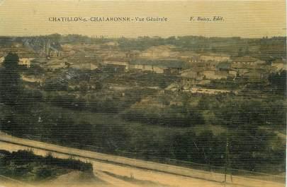 """/ CPA FRANCE 01 """"Châtillon sur Chalaronne, vue générale"""""""