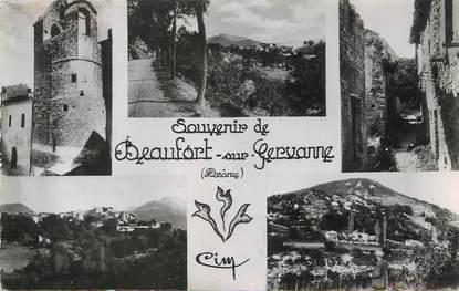 "/ CPSM FRANCE 26 ""Beaufort sur Gervanne """
