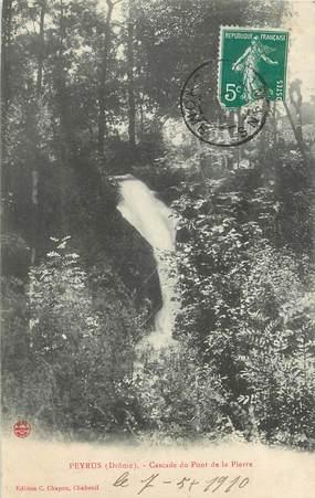 """/ CPA FRANCE 26 """"Peyrus, cascade du pont de la Pierre"""""""