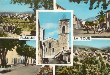 """/ CPSM FRANCE 83 """"Plan de la Tour """""""