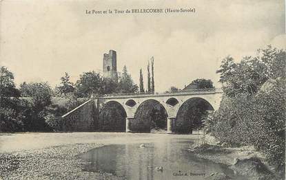 """CPA FRANCE 74 """"Bellecombe"""""""