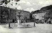 "07 Ardeche CPA FRANCE 07 ""Le Cheylard, Place Just Saléon Terras"""