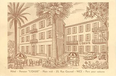 """/ CPA FRANCE 06 """"Nice, l'Oasis"""""""