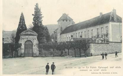 """/ CPA FRANCE 71 """"Autun, le palais Episcopal"""""""