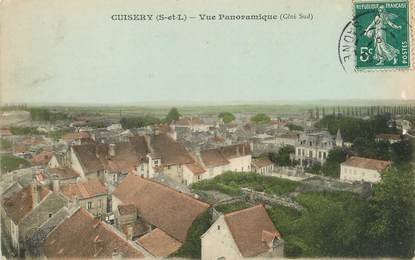 """/ CPA FRANCE 71 """"Cuisery, vue panoramique"""""""