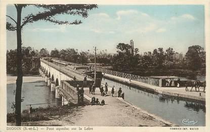 """/ CPA FRANCE 71 """"Digoin, pont Aqueduc sur la Loire"""""""