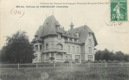 """/ CPA FRANCE 71 """"Charolles, château de Corcelles"""""""