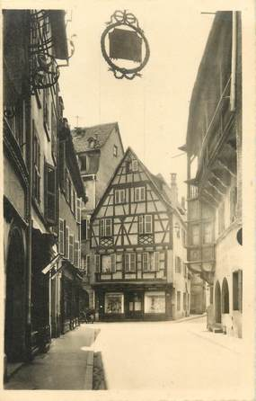 """/ CPSM FRANCE 68 """"Colmar, rue Mercière"""""""