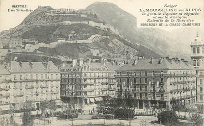 "/ CPA FRANCE 38 ""Grenoble, place Victor Hugo"""