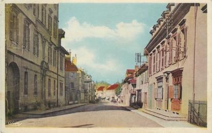 "/ CPA FRANCE 38 ""Pont de Beauvoisin, rue de la gare"""