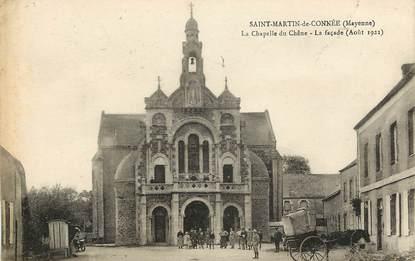 """CPA FRANCE  53 """"Saint Martin de Connée, la chapelle du chêne"""""""