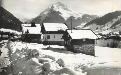 """/ CPSM FRANCE 74  """"Morzine, chalet au Hameau des Bois Venants"""""""