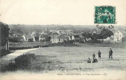 """/ CPA FRANCE 94 """"Champigny, vue générale"""""""