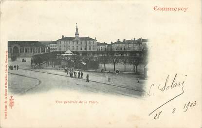 """CPA FRANCE 55 """"Commercy, vue générale de la Place"""""""