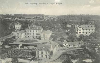 "/ CPA FRANCE 27 ""Rugles, panorama de l'Hôpital Hospice"""