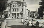 """27 Eure / CPSM FRANCE 27 """"Gisors, le canal, la poste et l'hôpital"""""""