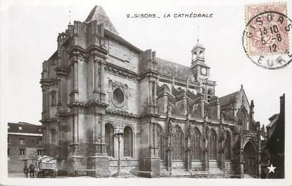 "/ CPSM FRANCE 27 ""Gisors, la cathédrale"""