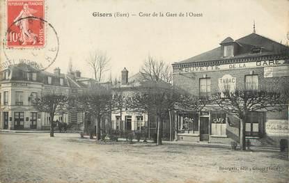 """/ CPA FRANCE 27 """"Gisors, cours de la gare de l'Ouest"""""""