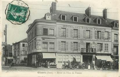 """/ CPA FRANCE 27 """"Gisors, hôtel de l'écu de France"""""""