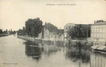 """CPA FRANCE 16 """"Jarnac, Quais de l'Orangerie"""""""