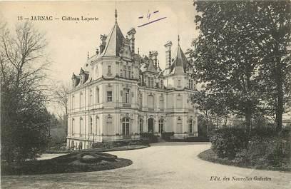 "CPA FRANCE 16 ""Jarnac, Chateau Laporte"""