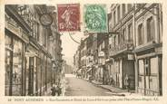 "27 Eure / CPA FRANCE 27 ""Pont Audemer, rue Gambetta et hôtel du Lion d'Or"""