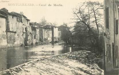 "CPA FRANCE 09 ""Montgaillard, canal du Moulin"""