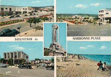 "/ CPSM FRANCE 11 ""Narbonne plage"""