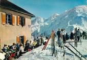"""74 Haute Savoie / CPSM FRANCE 74 """"Saint Gervais, hôtel du Prarion"""" / SKI"""