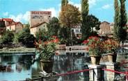 """16 Charente CPSM FRANCE 16 """"Mansle, La Charente et l'Hotel Beau Rivage"""""""