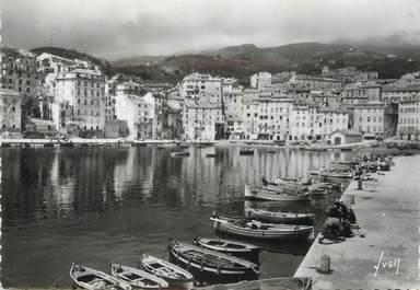 """/ CPSM FRANCE 20 """"Bastia, un coin du vieux port"""""""