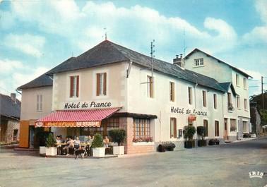 """/ CPSM FRANCE 19 """"Lagraulière, hôtel de France"""""""