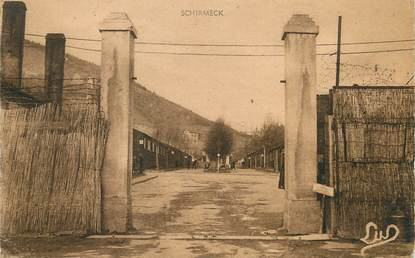 "/ CPA FRANCE 67 ""Schirmeck, le camp d'internement """