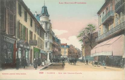 """/ CPA FRANCE 65 """"Tarbes, rue des grands fossés"""""""
