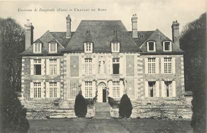 """CPA FRANCE 27 """"Env. de Beuzeville, Chateau du Mont"""""""