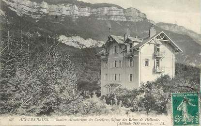 """/ CPA FRANCE 73 """"Aix les Bains, station Climatérique des Corbières"""""""