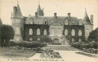 """CPA FRANCE 56 """"Chateau de Kergrist"""""""