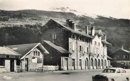 "/ CPSM FRANCE 73 ""Bourg Saint Maurice, la gare"""
