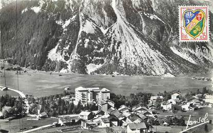 """/ CPSM FRANCE 73 """"Pralognan la Vanoise, village du Barrioz"""""""