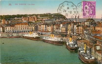 "CPA FRANCE 76 ""Dieppe, le port"""