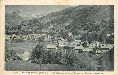 """/ CPA FRANCE 73 """"Valloire, vue générale"""""""