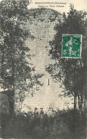 """/ CPA FRANCE 70 """"Demangevelle, ruines du vieux château"""""""
