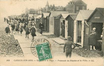 "CPA FRANCE 80 ""Cayeux sur Mer"""