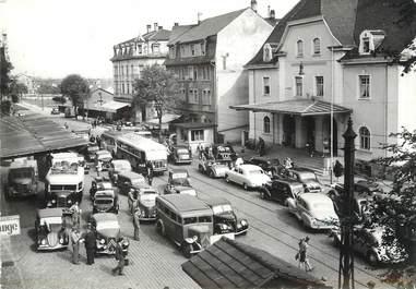 """/ CPSM FRANCE 68 """"Saint Louis, frontière Franco suisse"""" / DOUANE"""