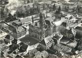 """68 Haut Rhin / CPSM FRANCE 68 """"Guebwiller, vue aérienne sur le centre de la ville et l'église"""""""