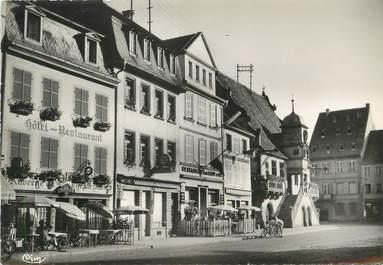 """/ CPSM FRANCE 67 """"Molsheim, place de la mairie"""""""