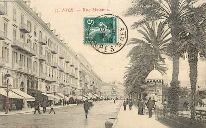 "CPA FRANCE 06 ""Nice, rue Masséna"""