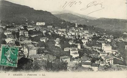 "CPA FRANCE 06 ""Grasse, panorama, Ed. L.L."""