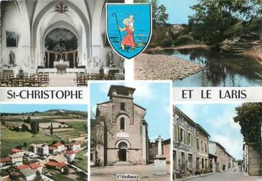 """/ CPSM FRANCE 26 """"Saint Christophe et le Laris"""""""
