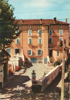 "/ CPSM FRANCE 26 ""Saint Rambert d'Albon, hôtel Brun"""